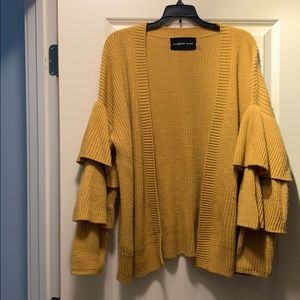 Mustard Seed open sweater
